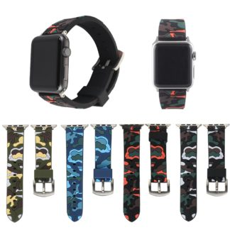 Bracelet Apple Watch Camouflage Soft Silicone