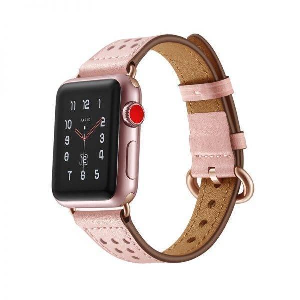 Bracelet Femme en cuir pour montre Apple Apple Watch accessoires Bracelets Apple Watch Femme Bracelet Apple Watch Bracelets Cuir Apple Watch