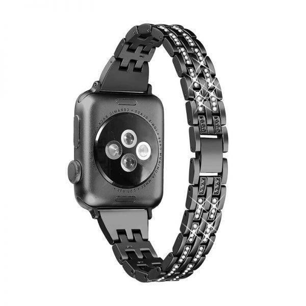 Bracelet Diamond Cristal Femme pour Apple Watch