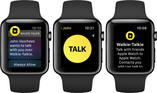 Comment utiliser Walkie-Talkie sur Apple Watch