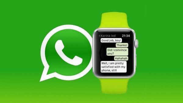 WhatsApp sur l'Apple Watch – Comment l'utiliser?
