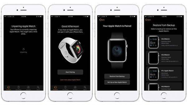 Comment sauvegarder son Apple Watch
