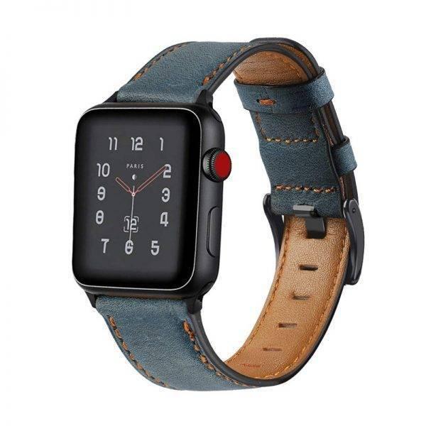 Bracelet Cuir Rétro pour Apple Watch