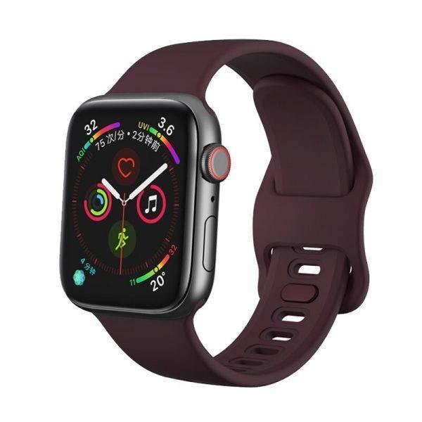Bracelet Silicone ssport pour apple watch