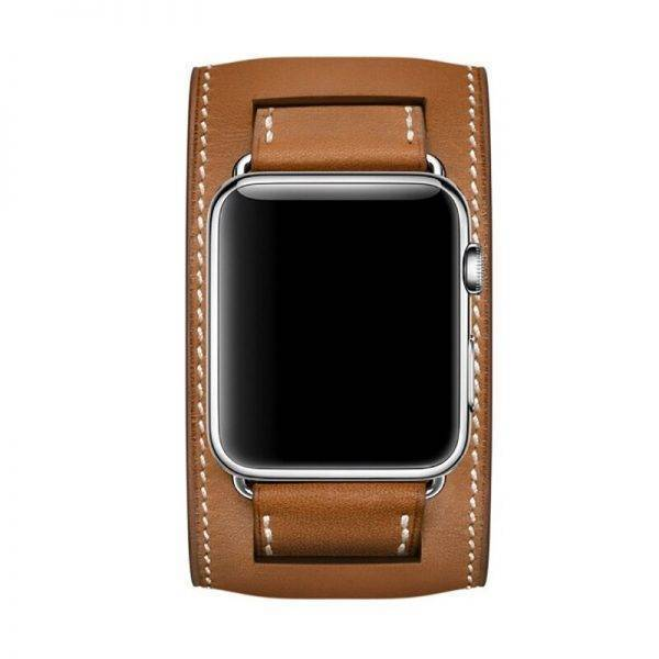 Strap For apple watch 6 band 44mm 40mm Apple Watch Band 42mm 38mm Leather Loop Bracelet for iWatch 6 SE 5 4 3 2 1 Accessories