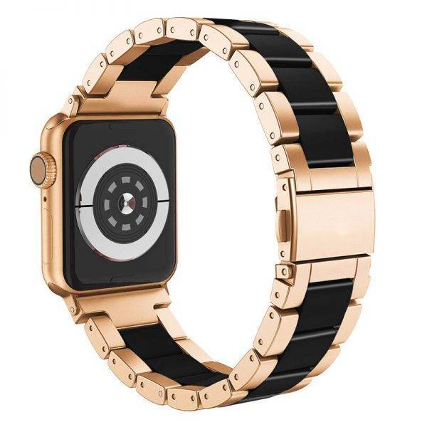 Bracelet Céramique et Acier pour Apple Watch