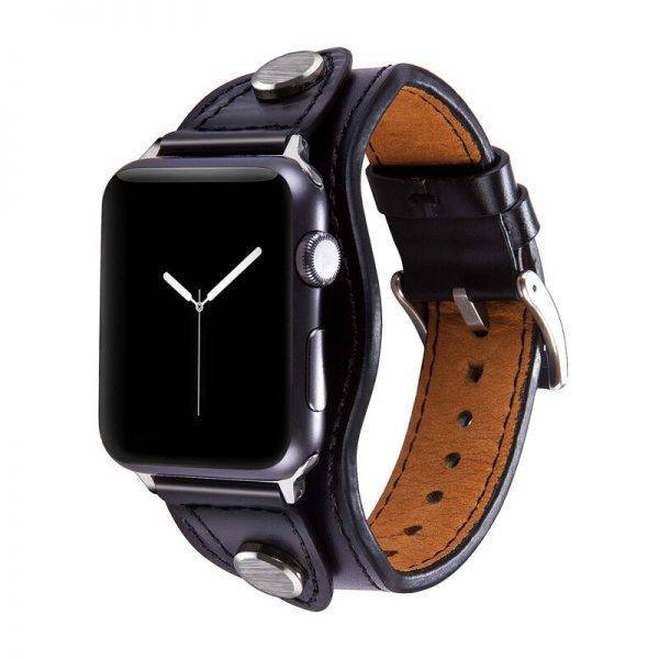 fashion strap for apple watch band 44mm 40mm 42mm 38mm iwatch pulseira 5/4/3/2/1 Genuine Leather watchband Accessories