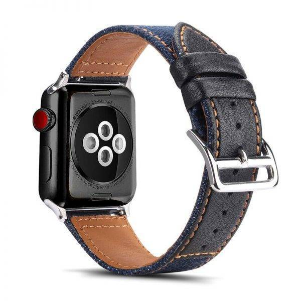 nylon+Genuine leather strap for Apple watch band 42mm 38mm 44mm 40mm Iwatch band series 5/4/3/2/1 bracelet wristbelt accessories