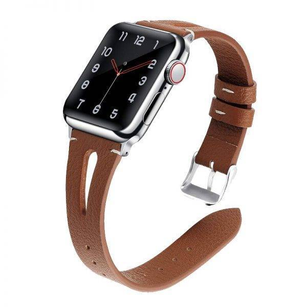 strap for apple watch 4 band 44mm 40mm 42mm 38mm correa iwatch series 5/4/3/2/1 bracelet Genuine Leather watchband accessories