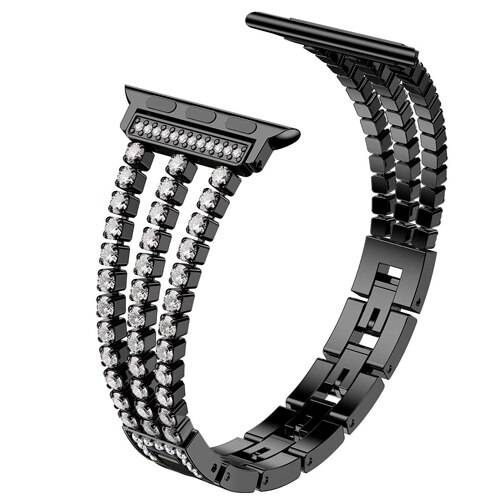 Bracelet Apple watch Femme Luxury Cristaux Diamond