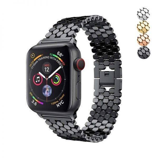Bracelet Apple Watch Fashion Acier Inoxydable