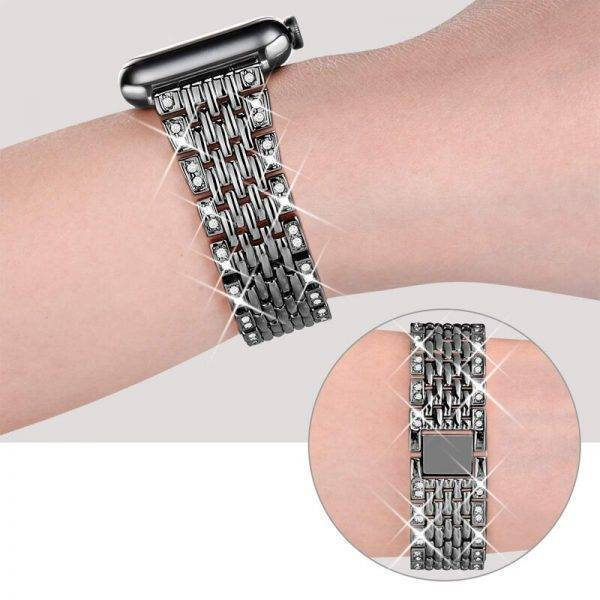 Apple watch Bracelet Femme Luxury Diamond Cristaux