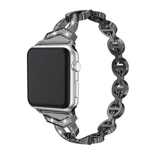 Bracelet Apple Watch Femme Maillons et Cristaux