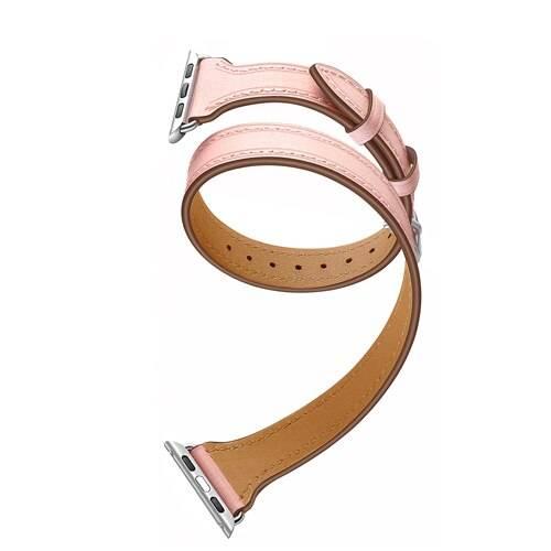 Bracelet Double Tour Apple Watch Femme Cuir véritable Apple Watch accessoires Bracelets Apple Watch Femme Bracelet Apple Watch Bracelets Cuir Apple Watch