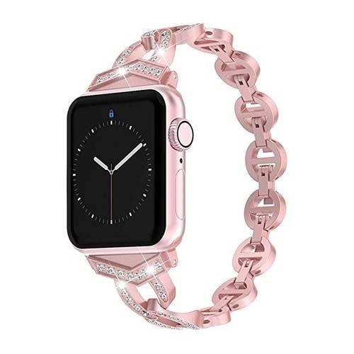 Bracelet diamont strass femme pour Apple Watch