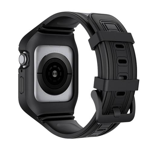 Bracelet Sport et coque Silicone pour Apple Watch