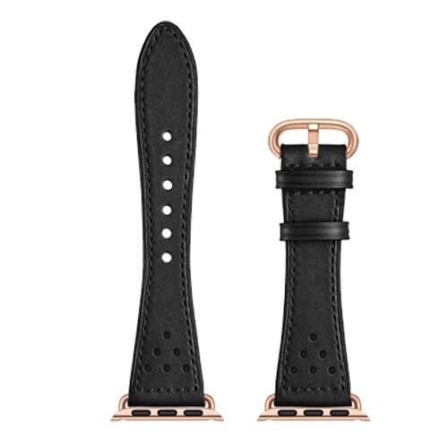 Bracelet Femme en cuir pour montre Apple