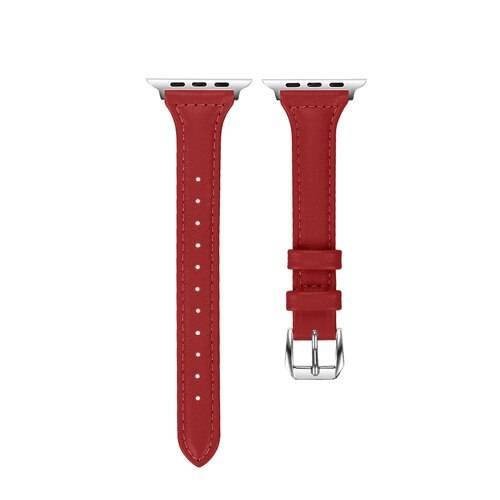 Bracelet pour Apple Watch Femme en Cuir véritable imprimés et unis