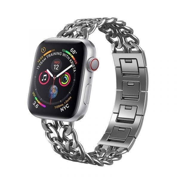 Bracelet maillons chaîne Femme pour apple watch Bracelets Apple Watch Femme Bracelet Apple Watch Bracelets Apple Watch Maillons Acier