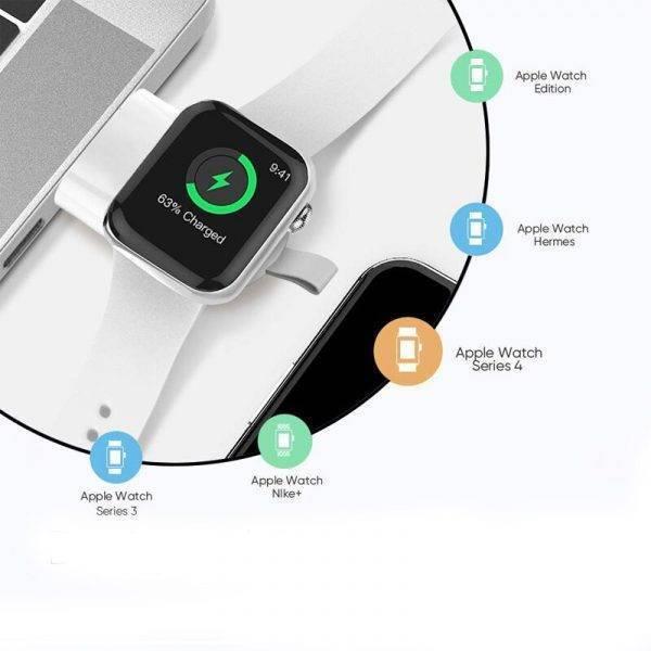 Station de charge usb magnétique sans fil pour Apple Watch Charge Apple Watch