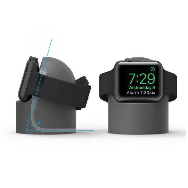 Station de charge en Silicone pour Apple Watch Charge Apple Watch