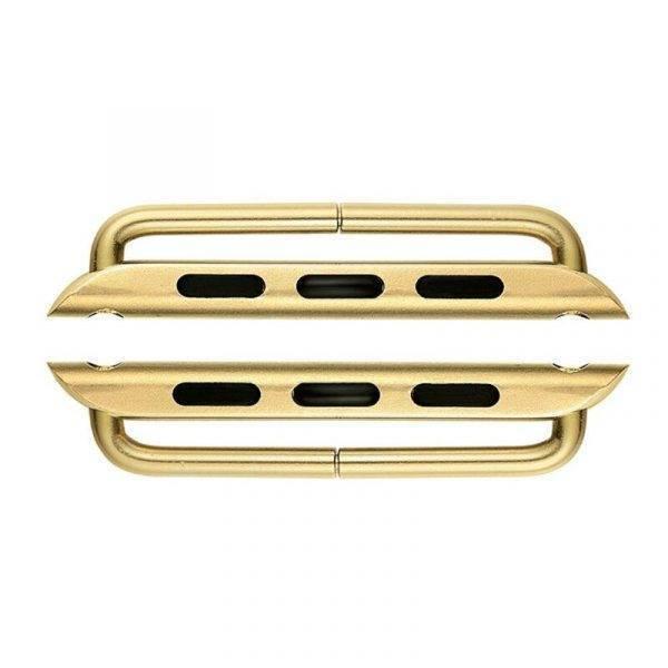 Connecteurs bracelet pour Apple Watch, adaptateur acier inoxydable Connecteurs Bracelet Apple Watch