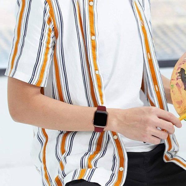 Bracelet en Silicone pour Apple Watch Bracelet Apple Watch Bracelets Apple Watch Silicone et PVC