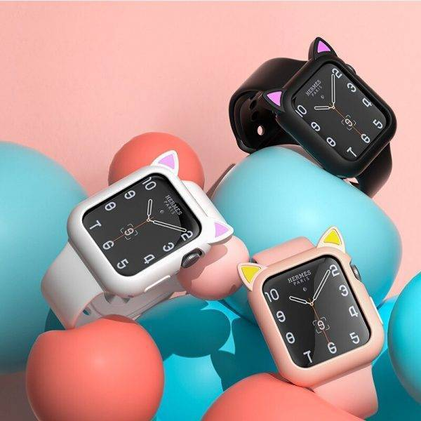 Coque antichoc kity pour Apple Watch Protection Apple Watch